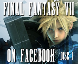Final Fantasy VII on Facebook Porfolio Thumbnail Disc 1