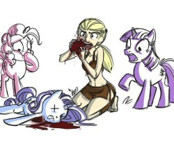 Daenerys eats pony heart comic