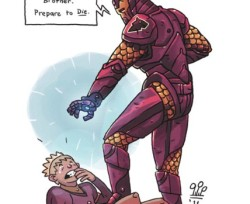 Iron Man Fights Joffrey Lannister