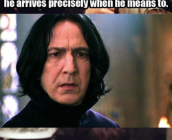 Harry Potter and Lord of the Rings a wizard arrives precisely as he means to