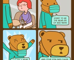 Bear's can't do surgery