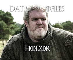 Hodor Dating Profile Pic