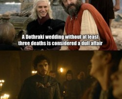 Dothraki Wedding