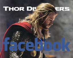 Thor Discovers Facebook Cover