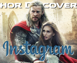 Thor Discovers Instagram Cover