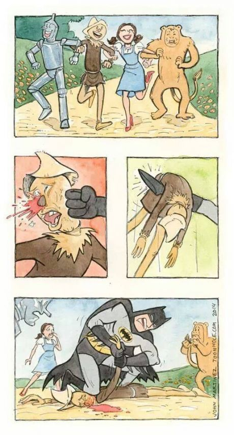 Batman vs the Scarecrow